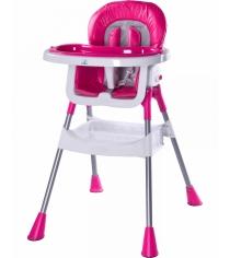 Стульчик для кормления Caretero Pop Magenta ярко-розовый TERO-7266