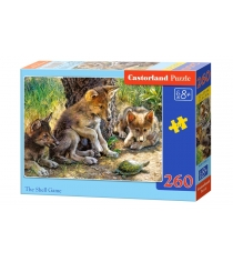 Пазл волчата и черепаха 260 элементов Castorland Р83076