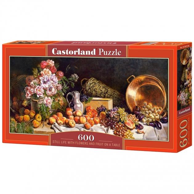 Пазл натюрморт 600 элементов Castorland Р89196