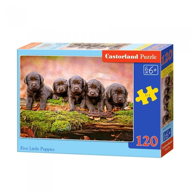 Пазл щенки 120 элементов Castorland Р87536