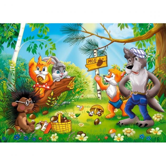 Пазл союзмультфильм чьи в лесу шишки 260 Castorland Р85107