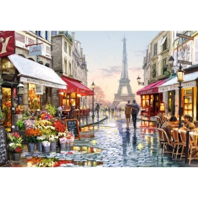 Пазл цветочный магазин 1500 деталей Castorland Р70348