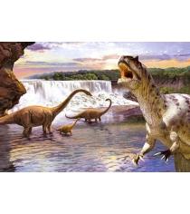 Пазл аллозавр и диплодок 260 деталей Castorland Р52710