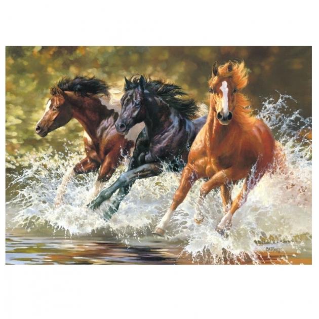 Пазл лошади 500 элементов Castorland Р52714