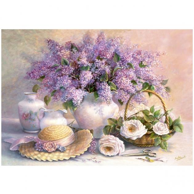 Пазл цветы 1000 элементов Castorland Р50349