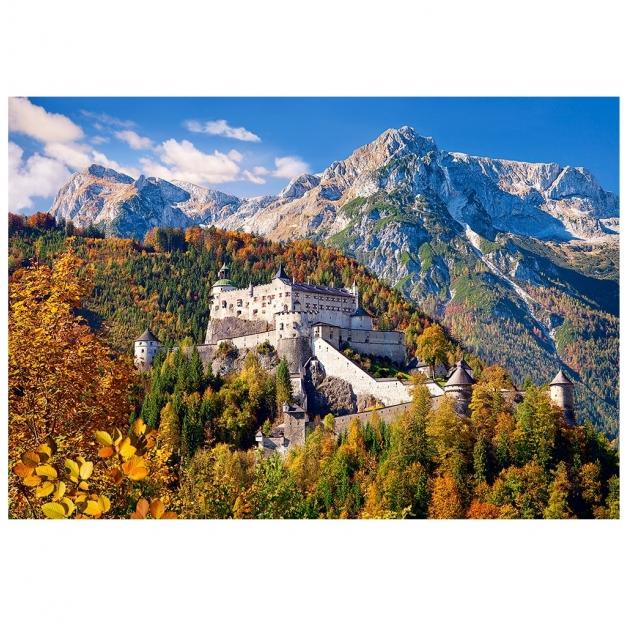 Пазл замок хоэнверфен австрия 1000 элементов Castorland Р79159