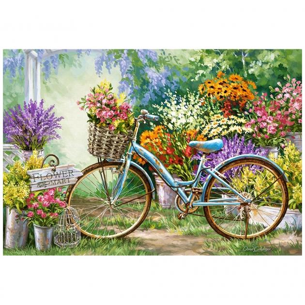 Пазл цветочный март 1000 элементов Castorland Р89852
