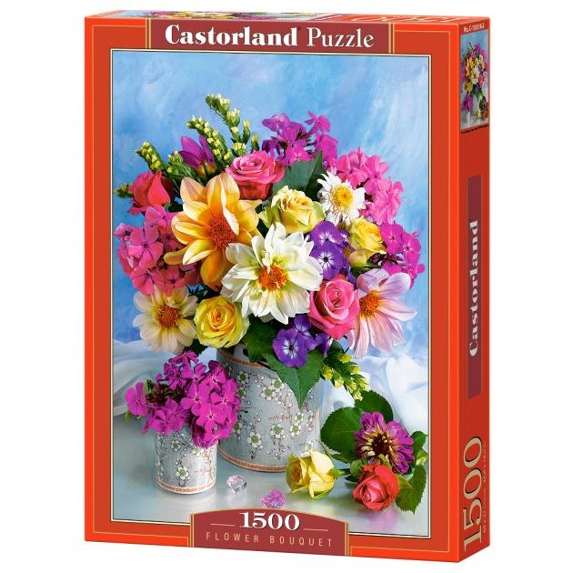 Пазл букет цветов 1500 элементов Castorland Р84743