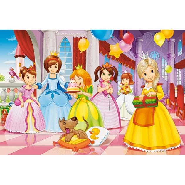 Пазл maxi день рождения принцессы 40 элементов Castorland Р72897