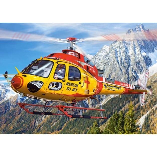 Пазл спасательный вертолет 260 элементов Castorland Р77247