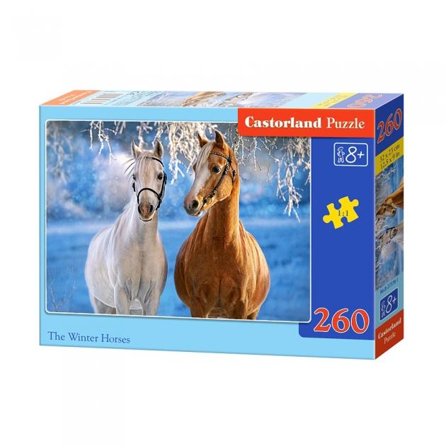 Пазл лошади зимой 260 элементов Castorland Р84212
