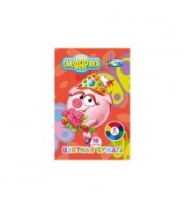 Цветная бумага смешарики нюша 8 цветов Centrum 84365