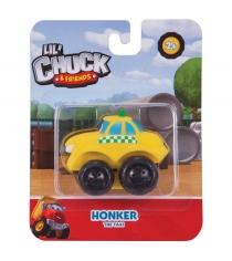 Машинка из серии chuck and friends такси 5 см Чак и его друзья 96115