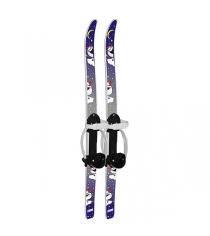 Детские лыжи пингвины с палками 90/90 см Цикл Р96380