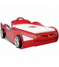 Cilek Coupe красная с выдвижным спальным местом