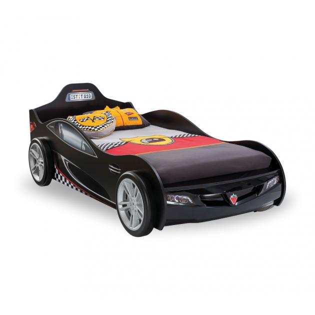 Кровать машина Cilek Coupe черная 20.03.1312.00