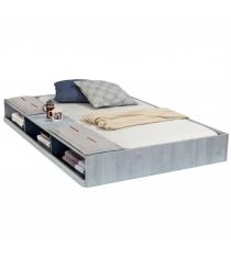 Выдвижное спальное место Cilek Trio с полочками 190 на 90 см...
