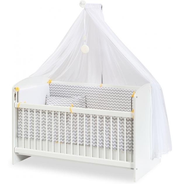 Кровать люлька Cilek customary white 60 на 120 см