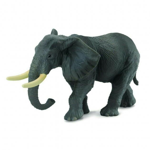Слон африканский xl 14 см Collecta 88025b