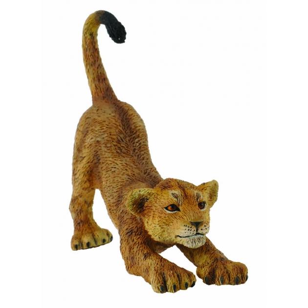 Львенок потягивающийся s Collecta 88416b