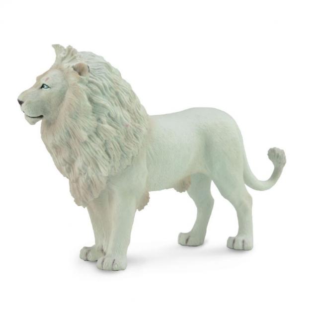 Лев белый l Collecta 88785b