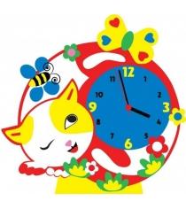 Набор для творчества Color kit часы котик CL015