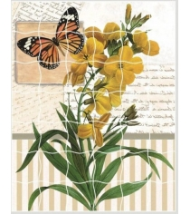 Пазл стикер самоклеющийся Color kit орхидея XD06