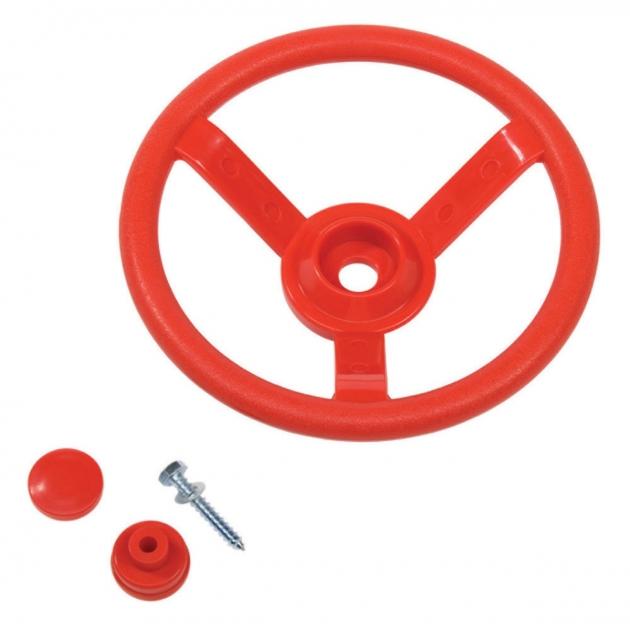 Руль детский пластиковый Complex красный