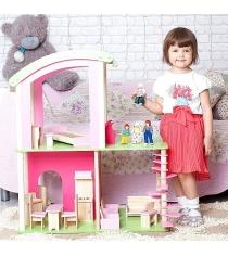 Кукольный домик Craft Флоренция с мебелью и куклами DY-0103