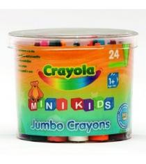 24 восковых мелка для малышей в бочонке Crayola 0784C
