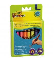 16 смываемых треугольных восковых мелков Crayola 52-016T