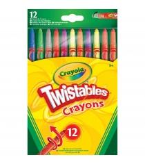 Выкручивающиеся восковые мелки 12 штук Crayola 52-8530