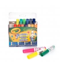16 мини фломастеров с узорными наконечниками Crayola 58-8709