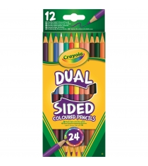 12 двухсторонних карандашей Crayola 68-6100