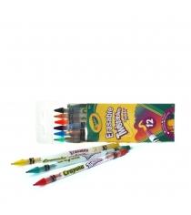 12 выкручивающихся карандашей Crayola 68-7508