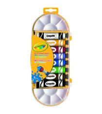 Темперные краски 8 цветов Crayola 7407