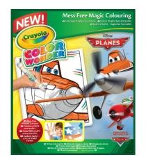 Раскраска самолеты Color Wonder Crayola 75-0245