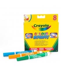 Фломастеры 8 цветов радуги для белой доски Crayola 8223