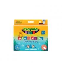 12 цветных фломастеров для малышей Crayola 8325