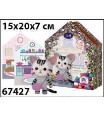 Набор для творчества валяние кошкин дом Делай с мамой 67427