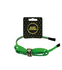 Ободок neon плетенный бант Daisy Design 51445