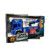 Инерционная машина junior tracker автокран 1:16 Dave Toys 33019