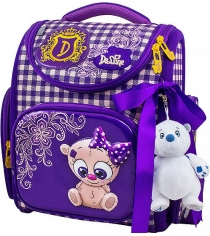 Ранец DeLune 3-157 с мешоком и мишкой
