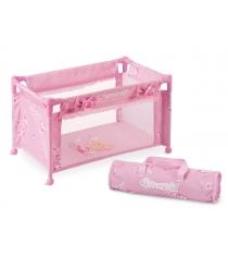 Манеж кроватка для куклы серии мария 50см Decuevas 50023