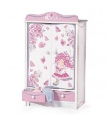 Гардеробный шкаф для куклы Decuevas серии Мария 54017