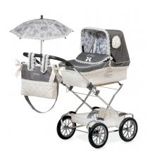 Коляска для кукол реборн с сумкой и зонтиком 90 см Decuevas 82000