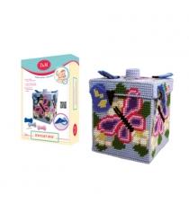 Набор для вышивания шкатулка бабочка Делай с мамой 33613...