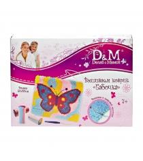 Набор для вышивания коврика бабочка Делай с мамой 43226...