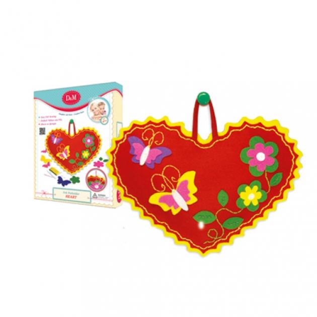 Набор для творчества шьем принаватку сердечко Делай с мамой 50964