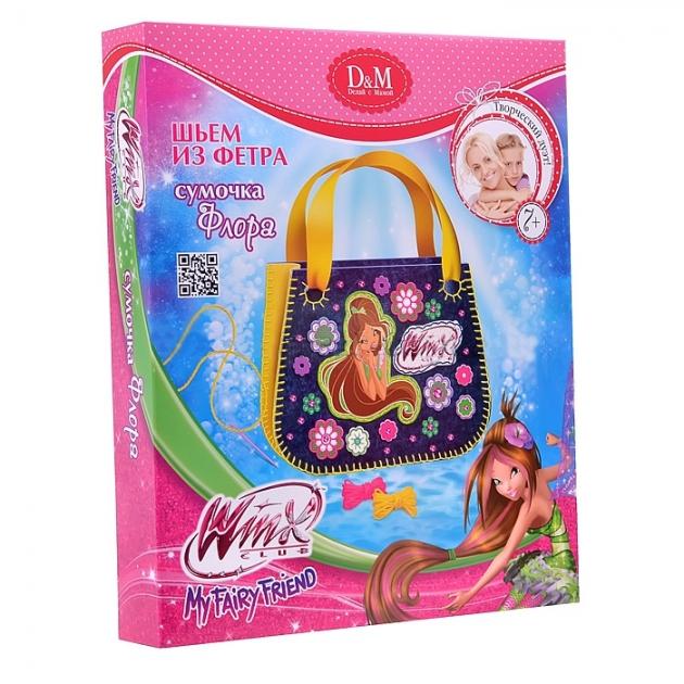 Набор шьем сумочку из фетра флора Делай с мамой 53901
